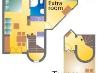 Apartement 2 floor plan